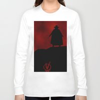 vendetta Long Sleeve T-shirts featuring V for Vendetta (e3) by Ezgi Kaya