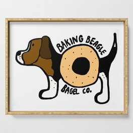The Baking Beagle Bagel Co. Serving Tray