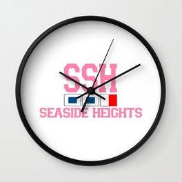 Seaside Heights - New Jersey. Wall Clock