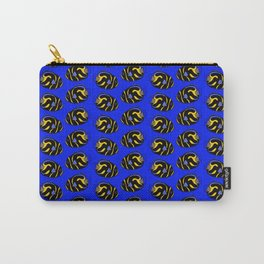 Juvenile Angelfish Pattern Carry-All Pouch
