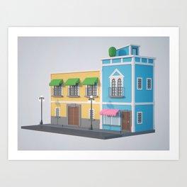 2O Art Print