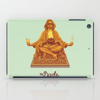lebowski iPad Cases featuring The Lebowski Series: The Dude by Bubblegun