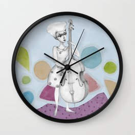 I bass play a song for you Wall Clock