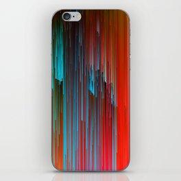 California Dreamin' - Abstract Glitch Pixel Art iPhone Skin
