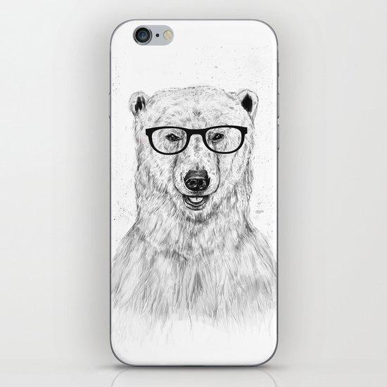 Geek bear iPhone & iPod Skin