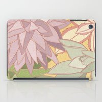 succulents iPad Cases featuring Succulents by Julia Walters Illustration