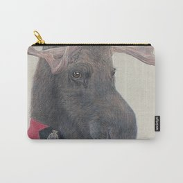 Canadian Moose Carry-All Pouch