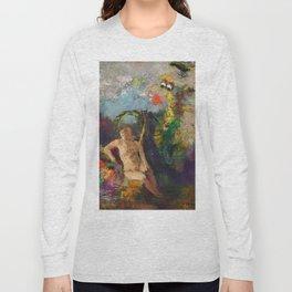 """Odilon Redon """"Eve in a landscape (Eve dans un paysage)"""" Long Sleeve T-shirt"""
