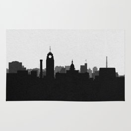 City Skylines: Lansing Rug
