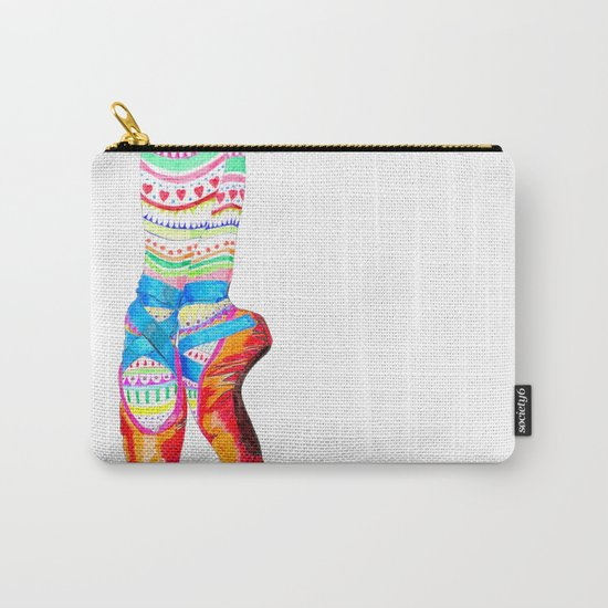 Doodling Ballet Carry-All Pouch