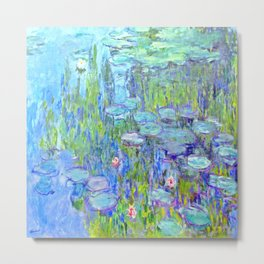 Water Lilies monet : Nympheas Metal Print