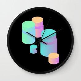 P I L L S Wall Clock