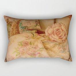 Vintage Linen Rectangular Pillow