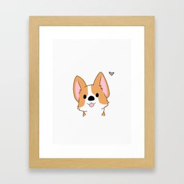 Hello, there Framed Art Print