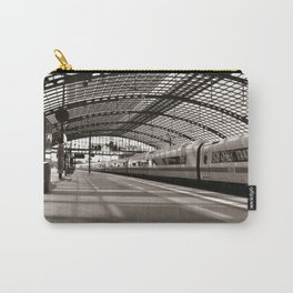 Train-Station of Berlin Carry-All Pouch