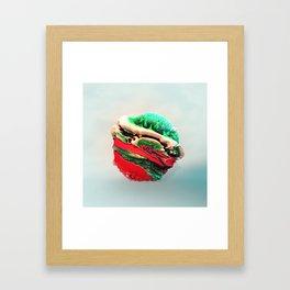ACRYLIC BALL III // 3D ABSTRACT Framed Art Print