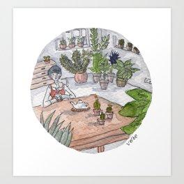 Personal Garden Art Print