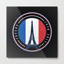 Eiffel Tower France Metal Print
