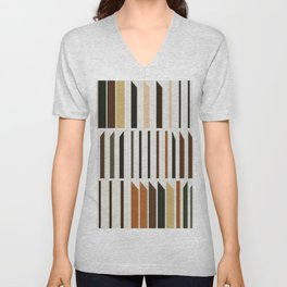Abstract Composition 563 Unisex V-Neck