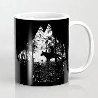 mononoke Mugs featuring Mononoke Forest by kamonkey