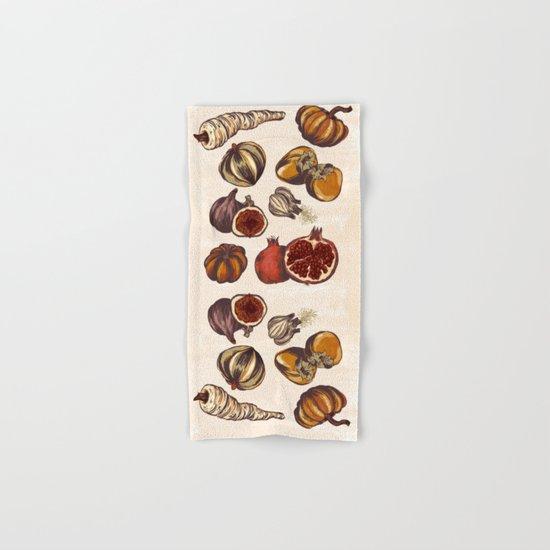 Fall Produce Hand & Bath Towel
