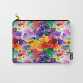 Floral Pattern 13 Carry-All Pouch