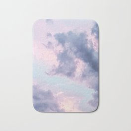 purple clouds Bath Mat