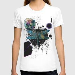 Modern Geometric Dragonfly T-shirt
