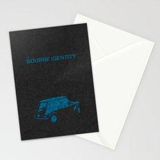 Bourne Map Stationery Cards