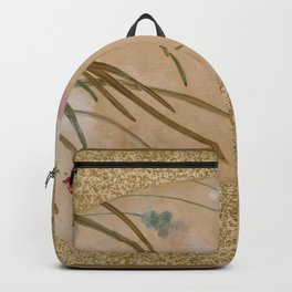 Shibata Zeshin - Leaves - Digital Remastered Edition Backpack