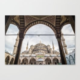 Sultan Ahmed Mosque Canvas Print