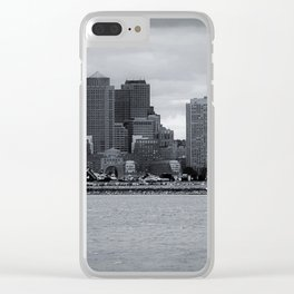 City and Airfield Clear iPhone Case
