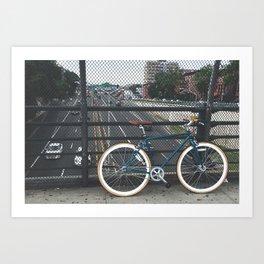 Hipster Bike Art Print