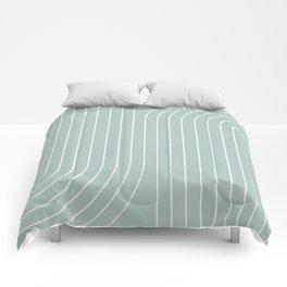 Minimal Line Curvature - Sage Comforters