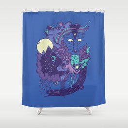 The Leader of the Pack Shower Curtain
