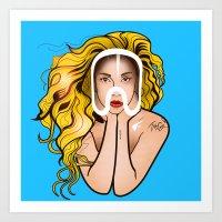 artpop Art Prints featuring ARTPOP by Alli Vanes