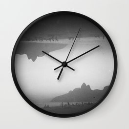 Sunset Over Ipanema Wall Clock