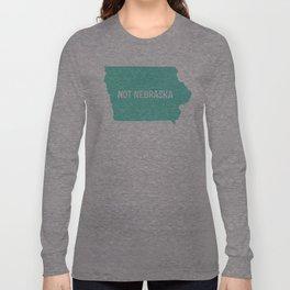 Not Nebraska  Long Sleeve T-shirt