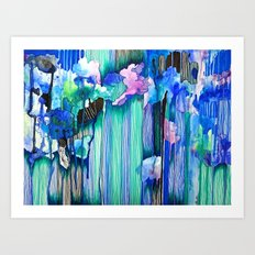 Cool Water Art Print