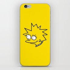 Little Lisa iPhone & iPod Skin