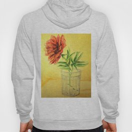 flower in a glass . illustration  ( https://society6.com/totalflora/collection ) Hoody