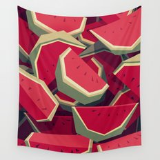Too many watermelons Wall Tapestry