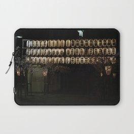 Asakusa sensoji at night 003 Laptop Sleeve