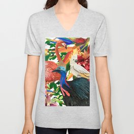 FLY ME TO THE TROPICS Unisex V-Neck