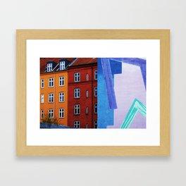 Window view 3 Framed Art Print