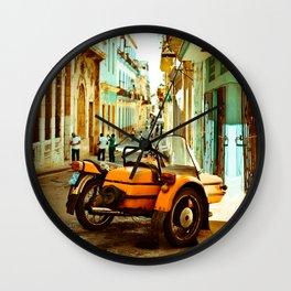 Havana's Street Wall Clock