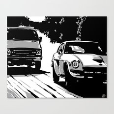 Cars #1 Canvas Print