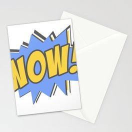 Wow Colors Pop Art Retro Stationery Cards