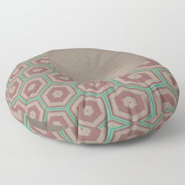 Pallid MInty Dimensions 15 Floor Pillow