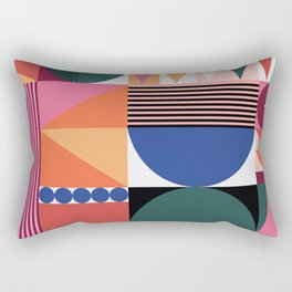 Geometric Festival Rectangular Pillow